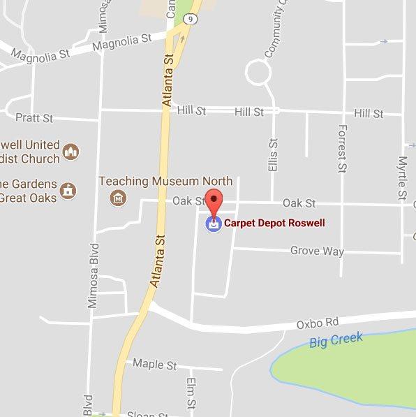 Carpet Depot Roswell Ga Map Carpet Depot