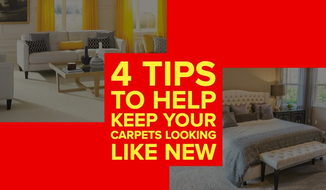 4 Tips To Help Keep Your Carpets Looking Like New