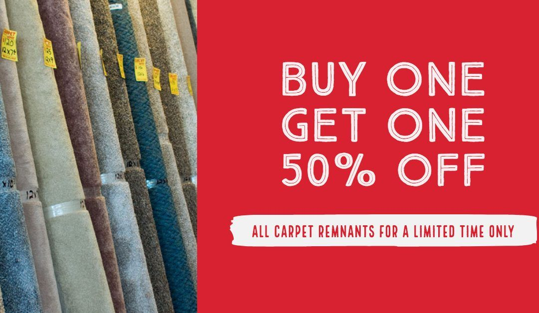Carpet Remnant Sale